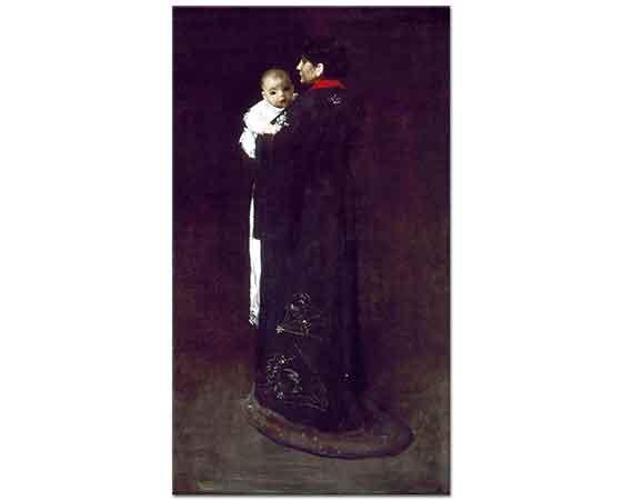 William Merritt Chase Anne ve Çocuğu