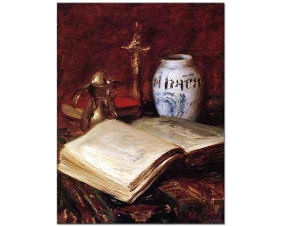 William Merritt Chase Eski Kitap