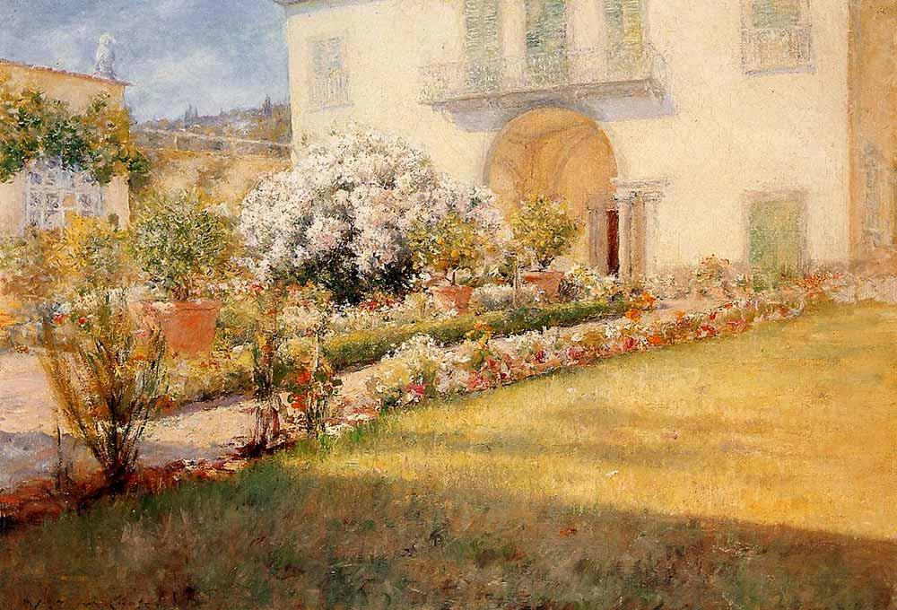 William Merritt Chase Florentine'nin Villası