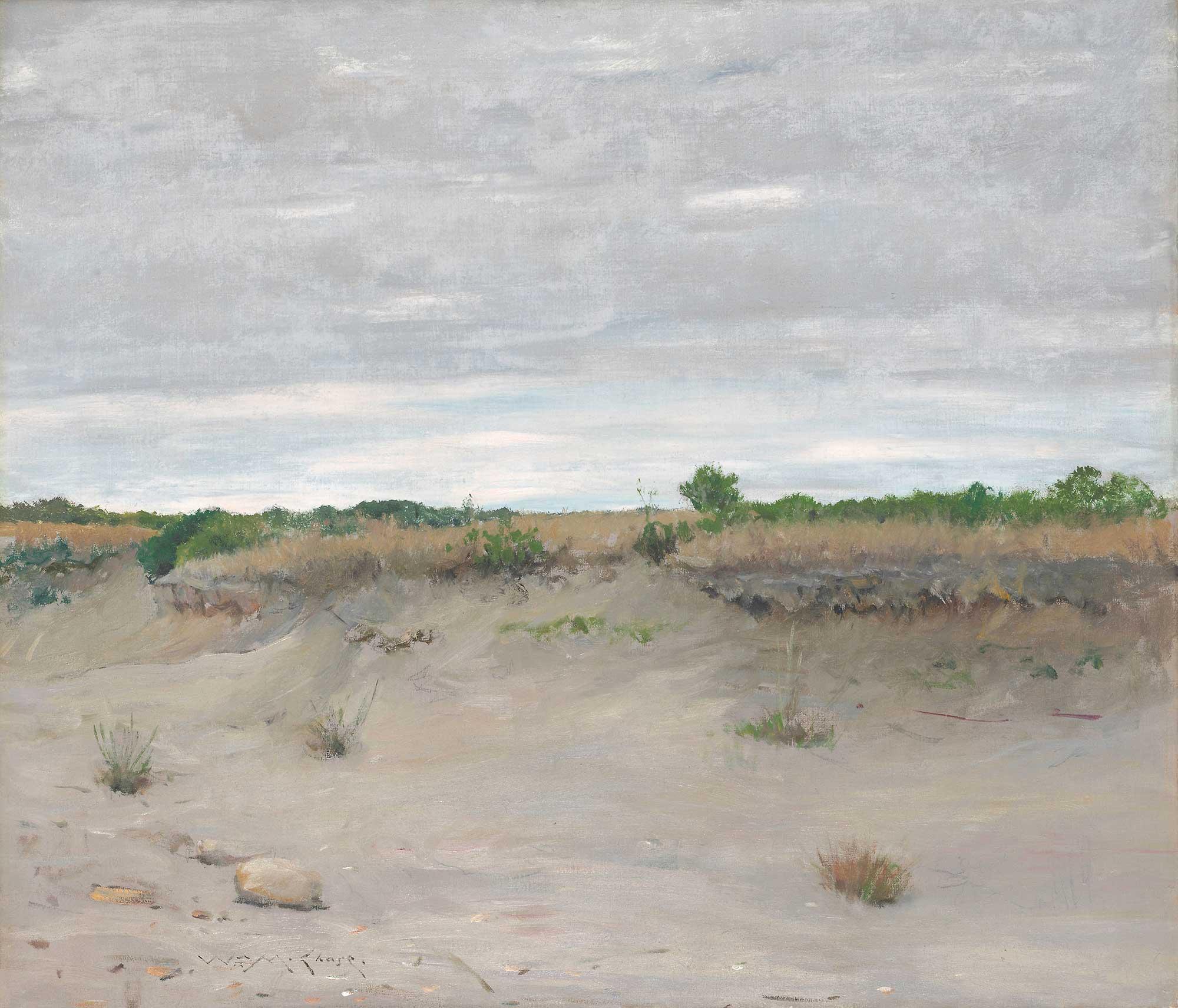 William Merritt Chase Kumları Savuran Rüzgar, Shinnecock