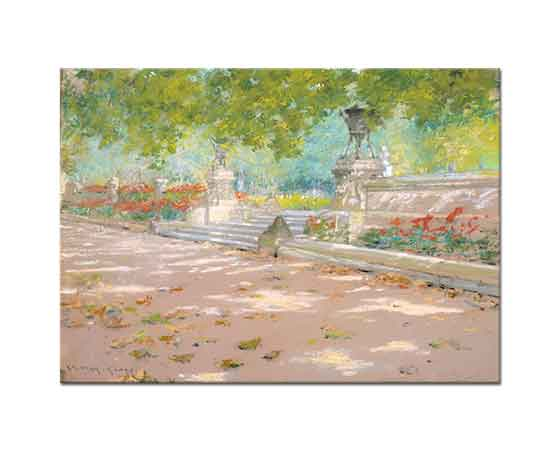 William Merritt Chase Prospect Parkı Terası