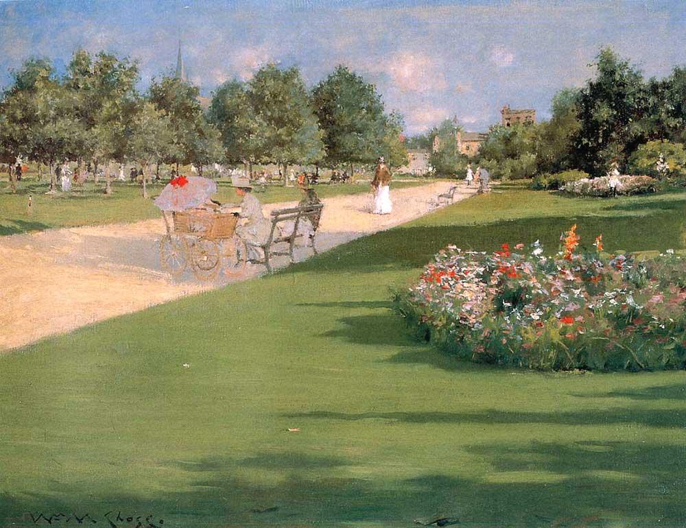 William Merritt Chase Tompkins Parkı Brooklyn