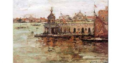 William Merritt Chase Venedik Navy Arsenal