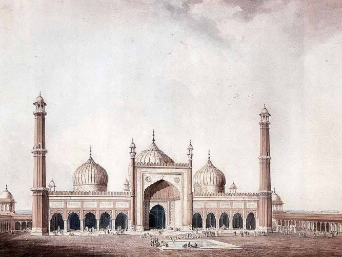 William Daniell Cuma Camisi Delhi
