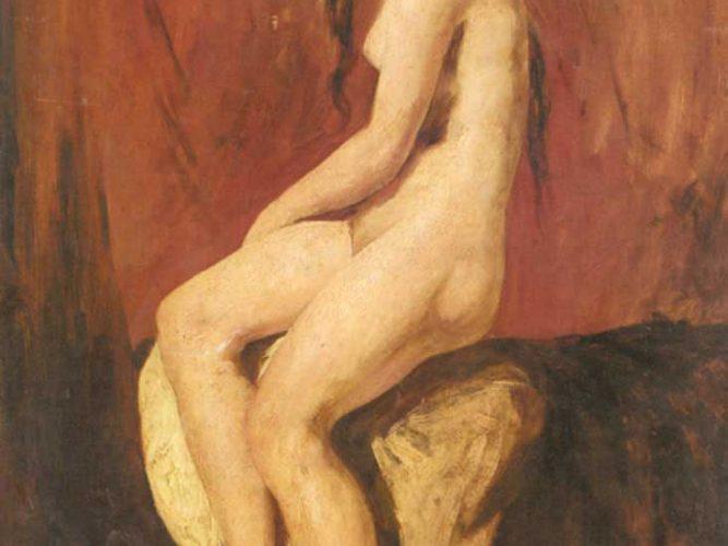 William Etty Nü Etüdü tablosu