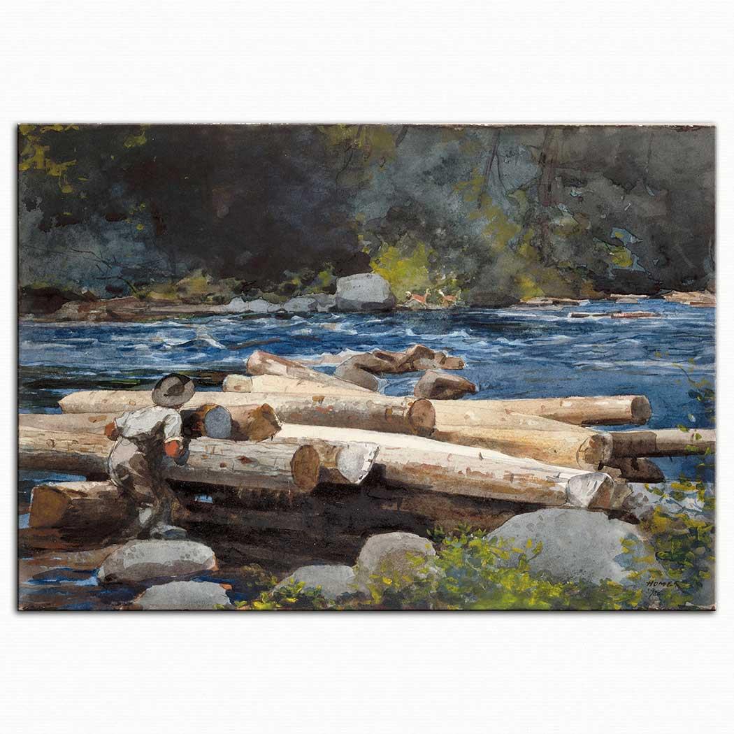 Winslow Homer Hudson Nehri
