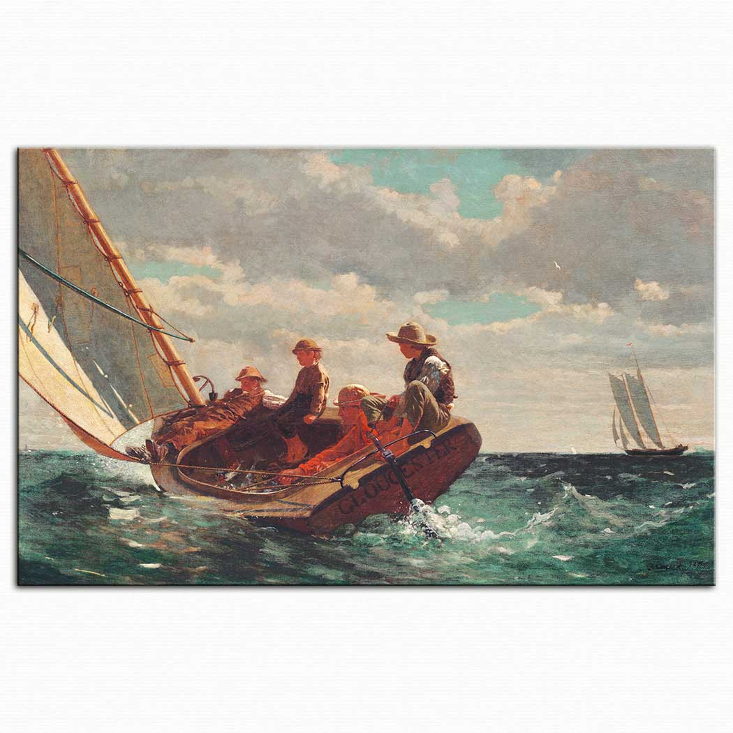 Winslow Homer Yelkenler Fora