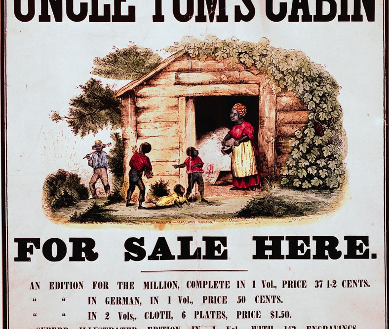 an analysis of the main character in the novel uncle toms cabin by harriet beecher stowe