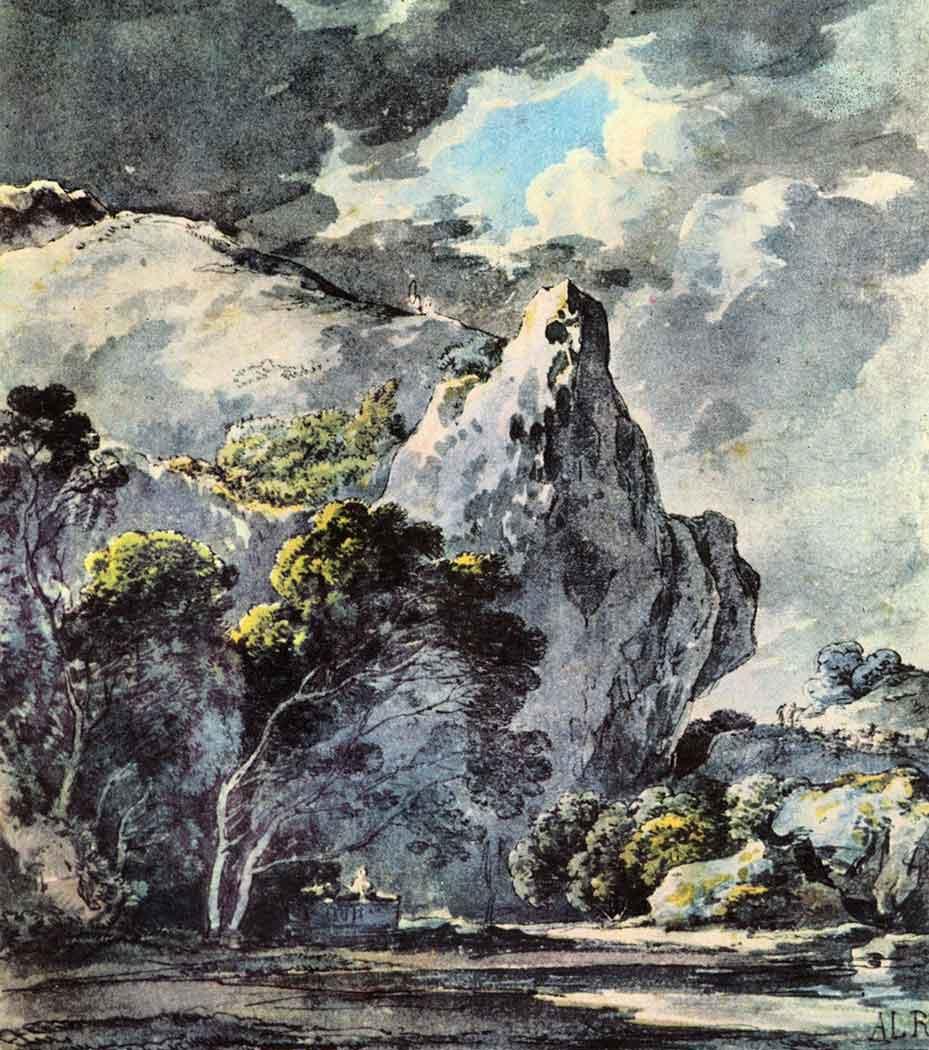 Adrian Ludwig Richter Kayalık