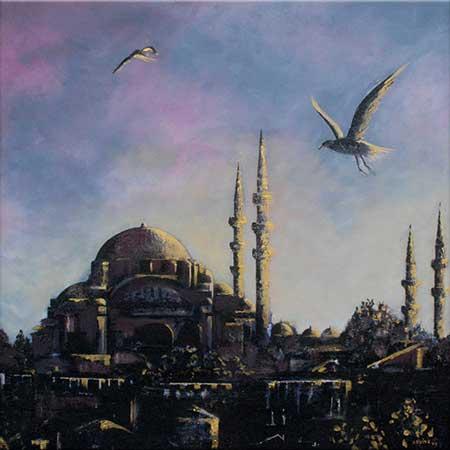 Adviye Özküçük Istanbul Renklerine Bakış
