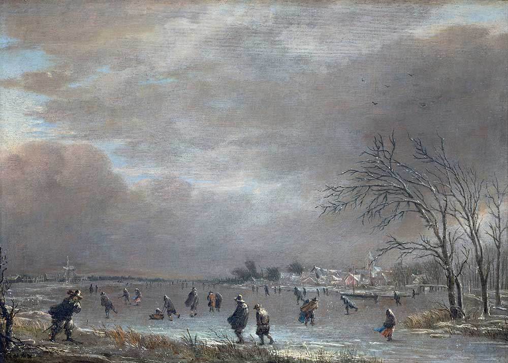 Aert van der Neer Hollanda Manzarası
