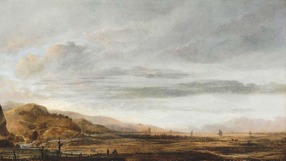 Aert van der Neer Hollanda'dan Manzara