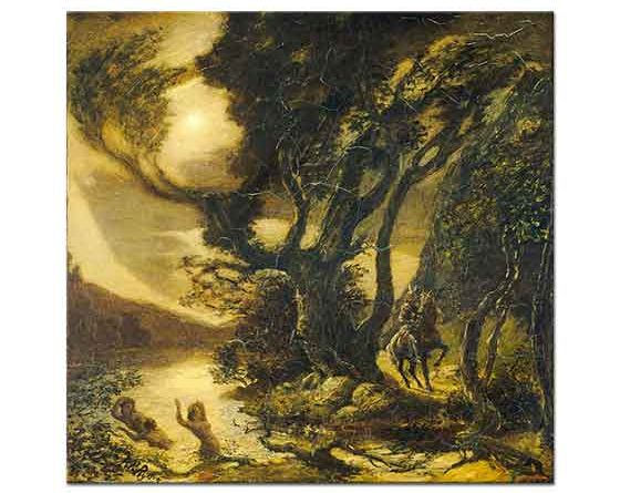 Albert Pinkham Ryder Siegfried ve Ren Bakireleri