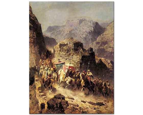 Alberto Pasini Arap Kervanı