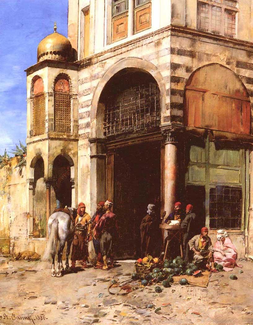 Alberto Pasini Meyve Pazarı