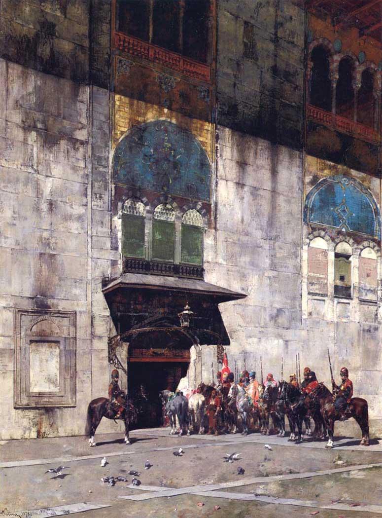 Alberto Pasini Paşa'nın Korumaları
