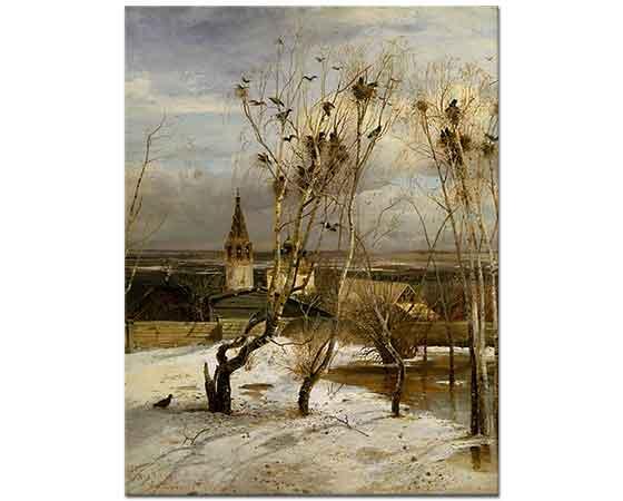 Alexei Savrasov Kış Akşamı