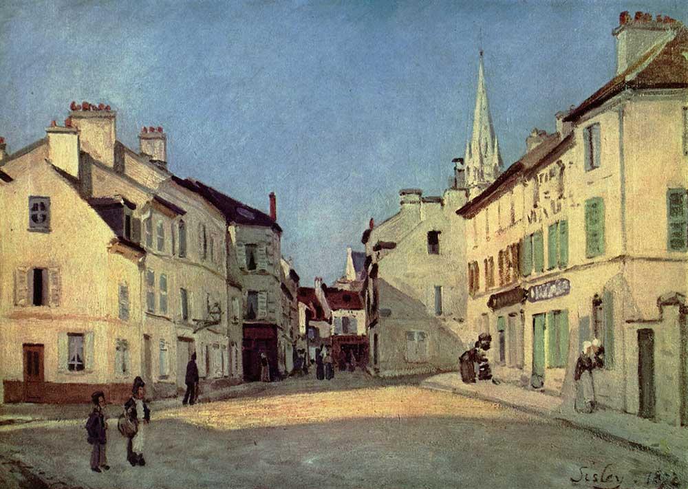 Alfred Sisley Argenteuil'de Meydan