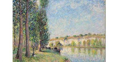 Alfred Sisley Nehir Kıyısı