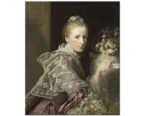 Allan Ramsay Bir Kadın Portresi