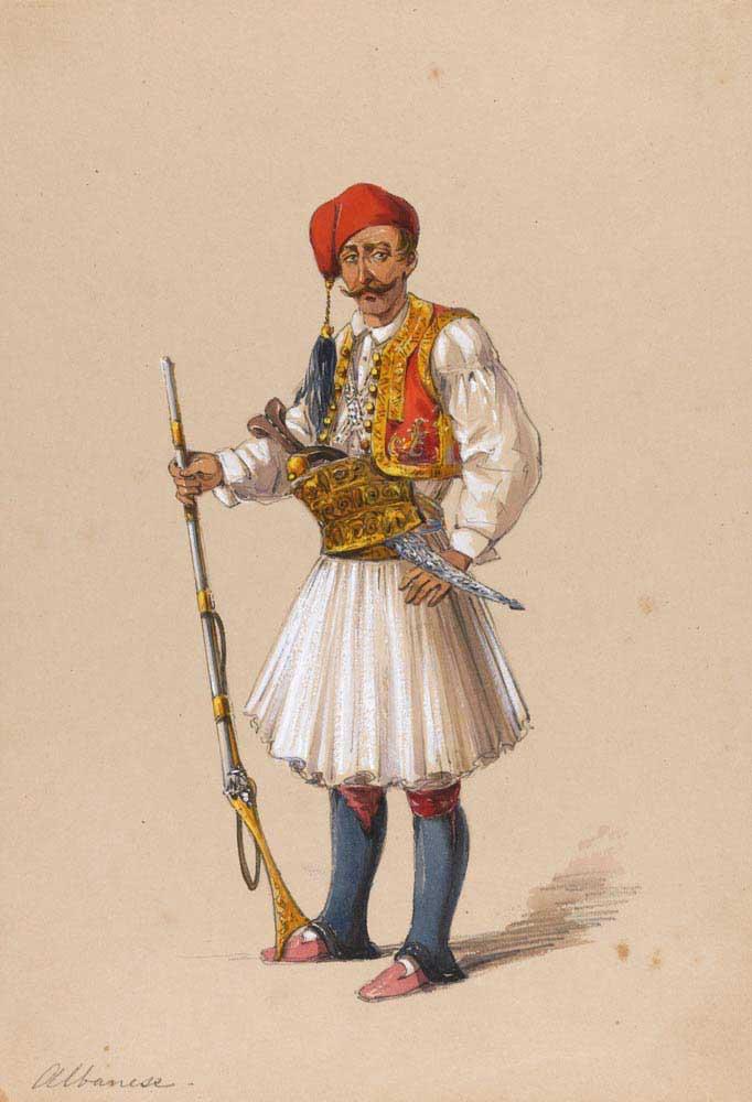 Amadeo Preziosi Arnavut askeri
