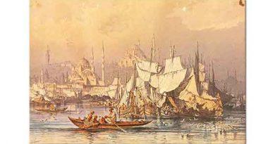 Amadeo Preziosi Haliçte Tekneler