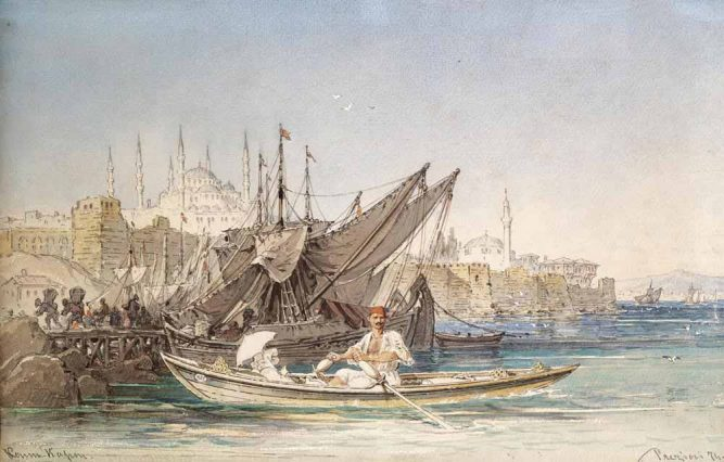 Amadeo Preziosi Istanbul Limanı