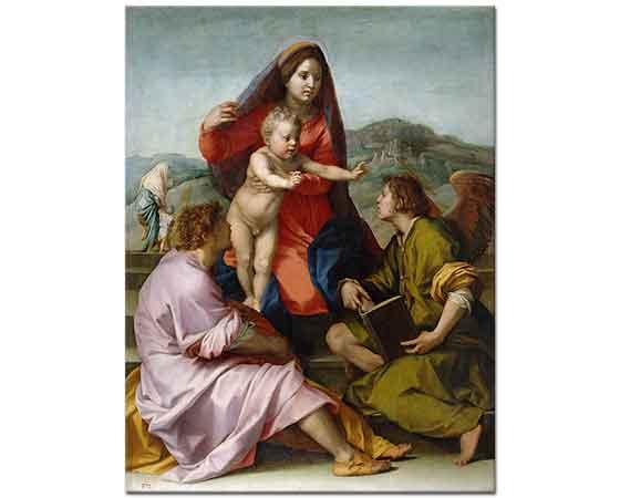 Andrea del Sarto Kutsal Aile