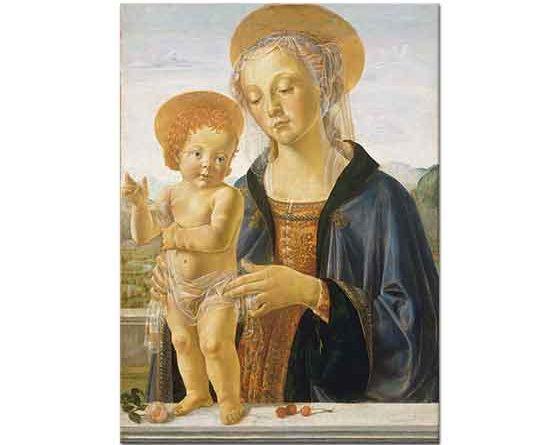 Andrea del Verrocchio Madonna ve Çoçuğu