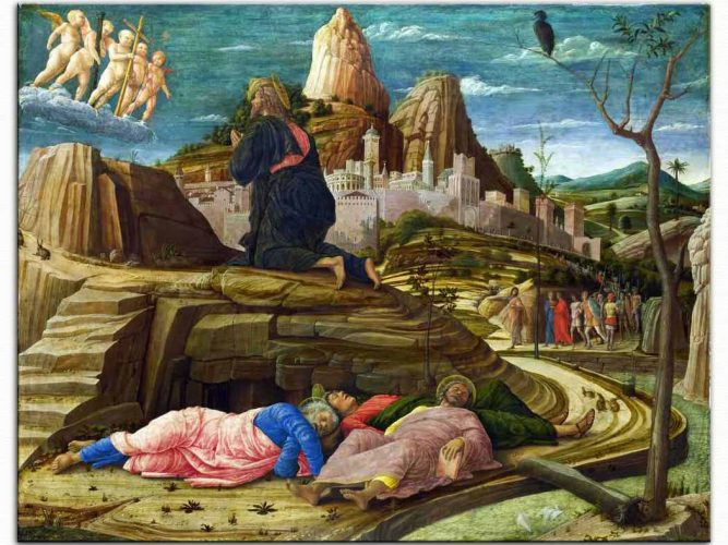 Andrea Mantegna Agony Bahçede