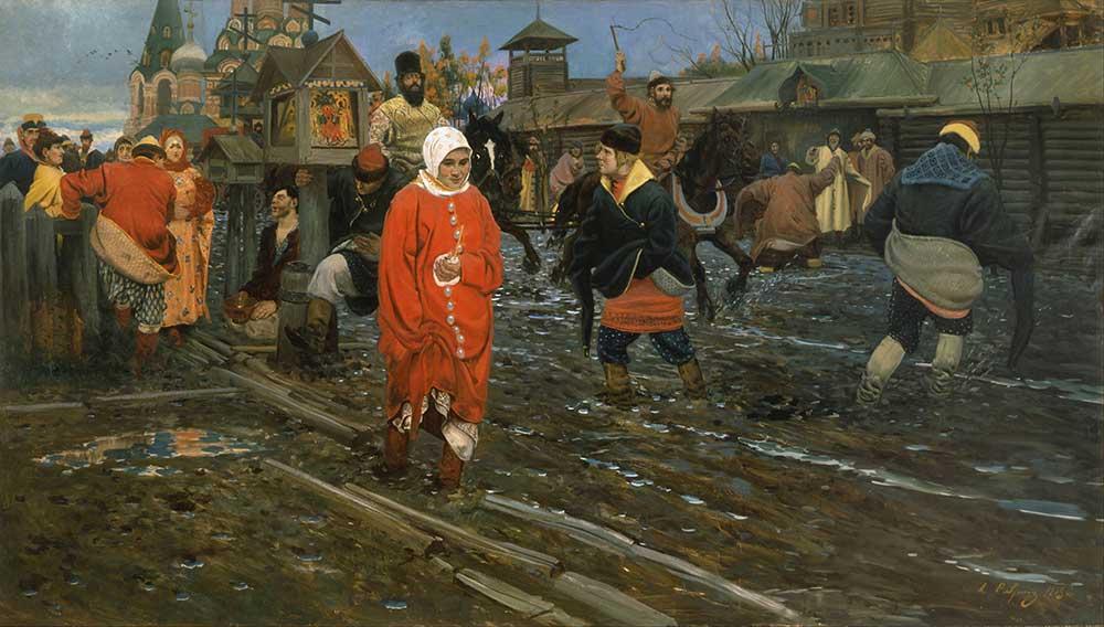 Andrei Ryabushkin Moskava Caddesi