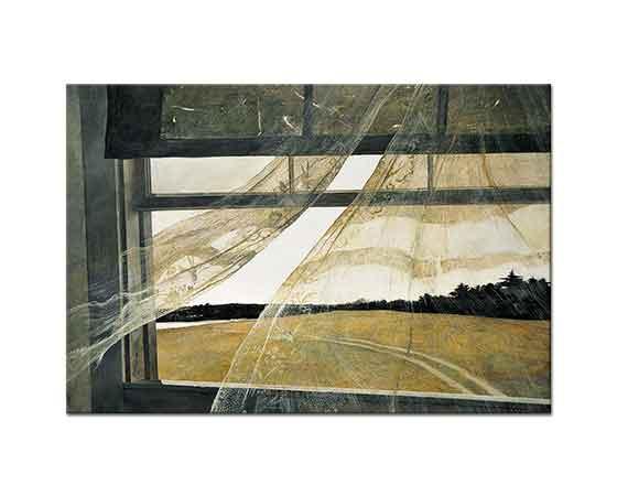 Andrew Wyeth Denizden Esen Rüzgar