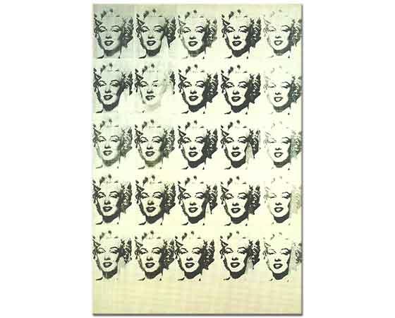 Andy Warhol Marilyn Monroe 25 Adet