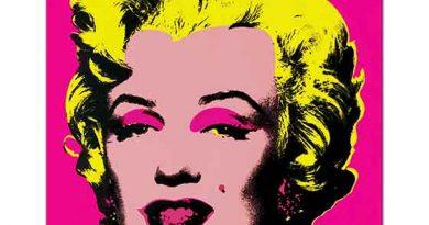 Andy Warhol Marilyn Monroe Pembe
