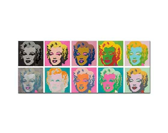 Andy Warhol Marilyn Monroe Set