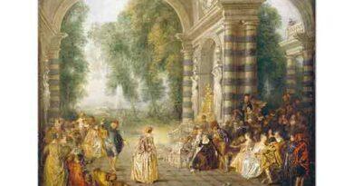 Jean Antoine Watteau Dans Keyfi - The Pleasures of the Dance