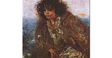 Anton Romako Kadın Portresi