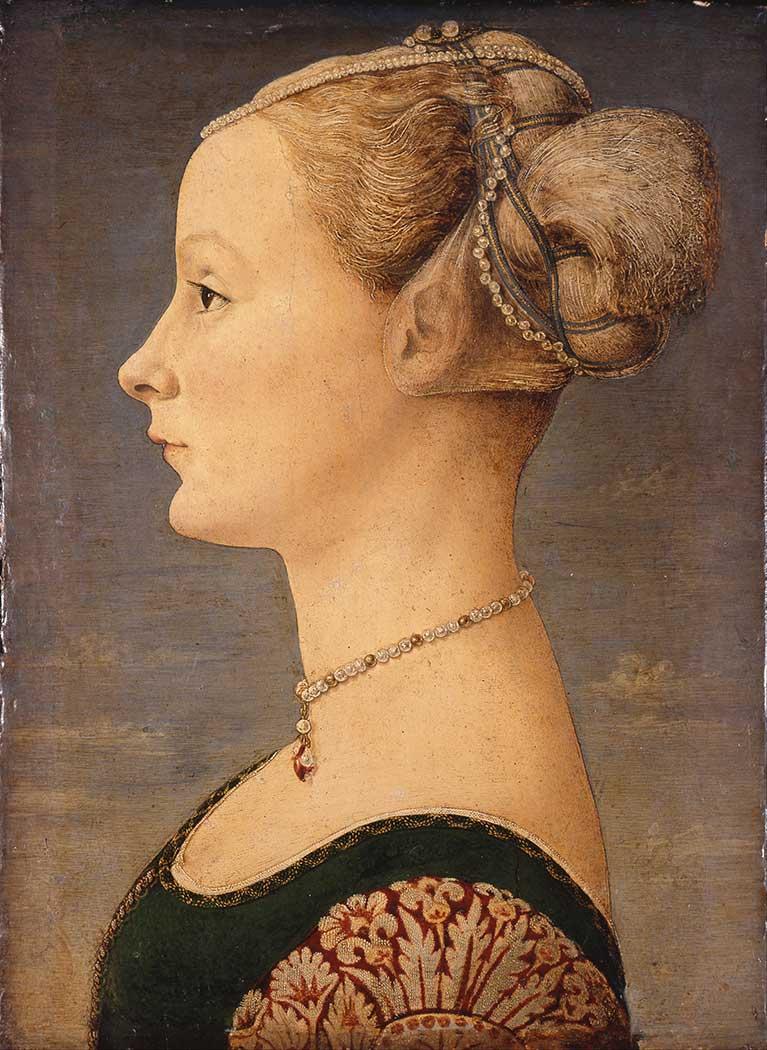 Antonio del Pollaiuolo Bir Kadın Portresi