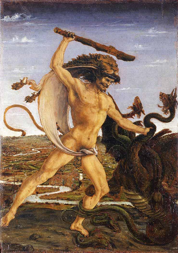 Antonio del Pollaiuolo Herkül ve Hydra