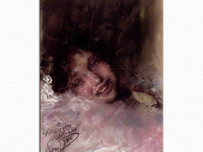 Antonio Mancini Genç Kız