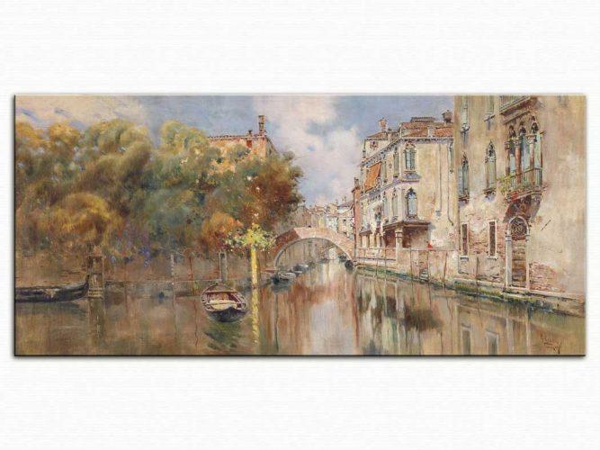 Antonio Reyna Manescau Venedik'te Kanal
