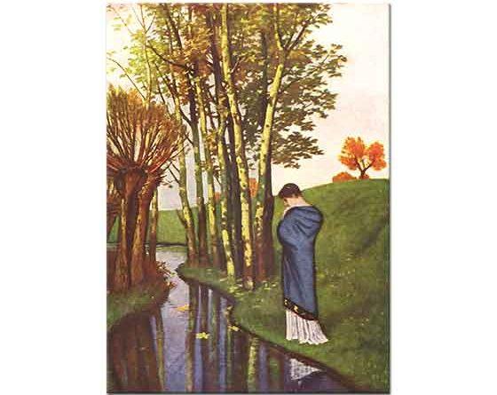 Arnold Böcklin Güz Düşünceleri