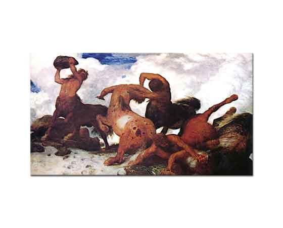 Arnold Böcklin Kentaure'nin Dövüşü