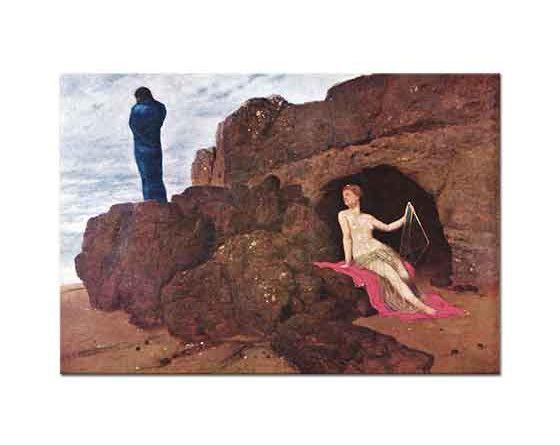 Arnold Böcklin Odysseus ve Kaliypso