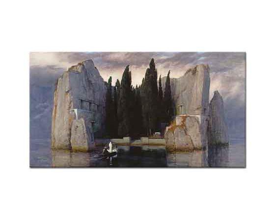 Arnold Böcklin Ölüler Adası