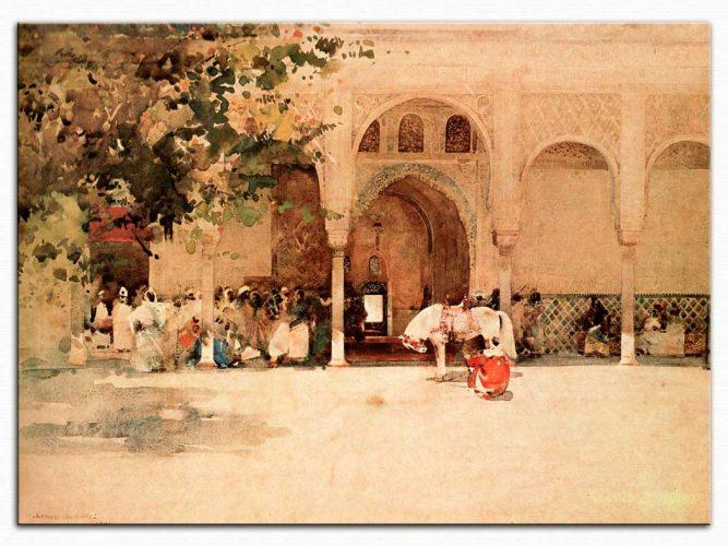 Arthur Melville Sultanı Beklerken Fas
