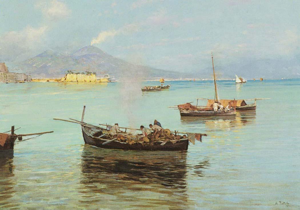 Attilio Pratella Napoli Limanı