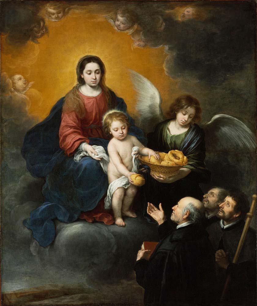 Bartolome Esteban Perez Murillo Ekmek Dağıtan İsa