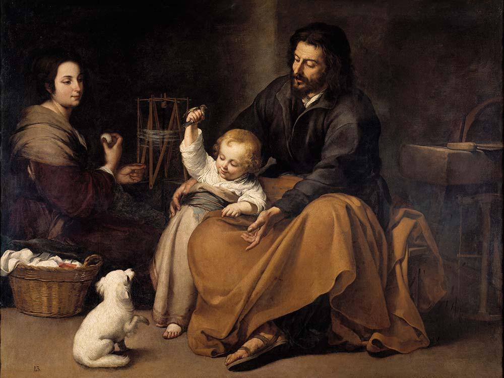 Bartolome Esteban Perez Murillo Kutsal Aile