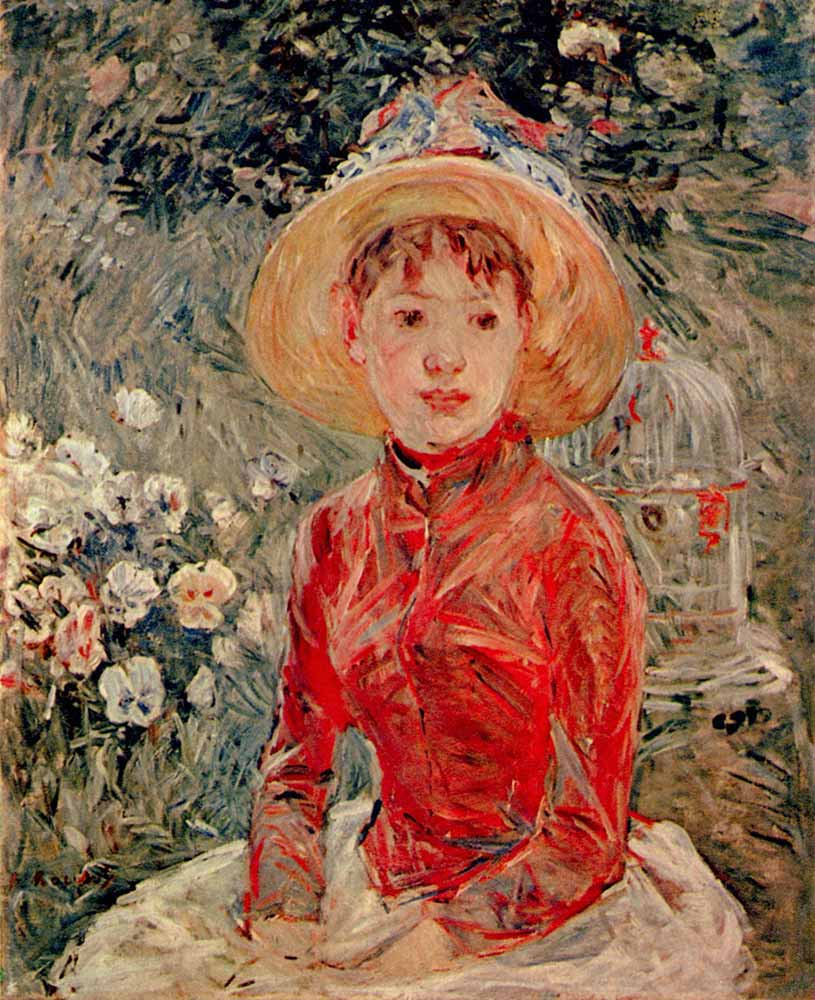 Berthe Morisot Genç Kız